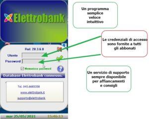 Programma ElettroBank per prelievo listini Metel